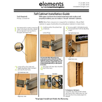 Thumb Element Tall Cabinet Instructions 1