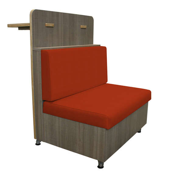 Duo Cafe Silverweave Tangerine Created with Mayer TexTile3D Tool