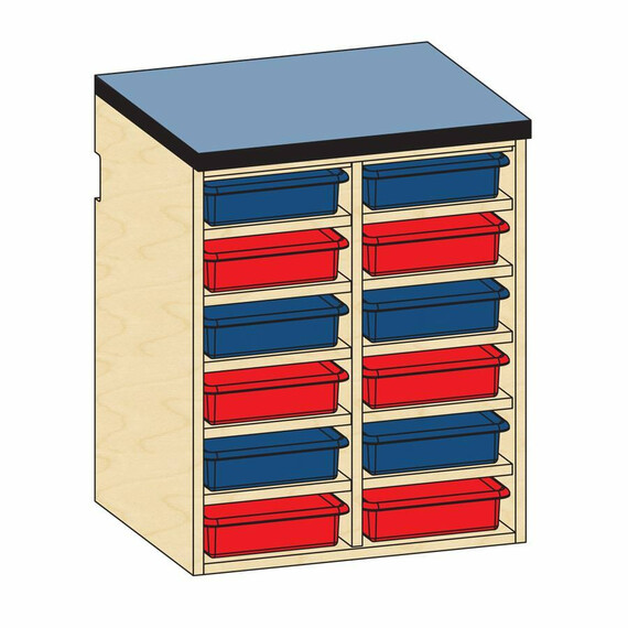 Base Open Tote Storage - mediatechnologies