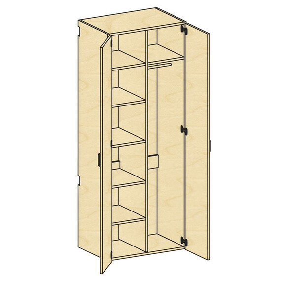 Tall Wardrobe Storage - mediatechnologies