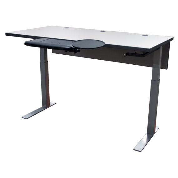 Porter Adjustable Height Desk - mediatechnologies